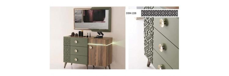 akmode mobilya mdf-ahşap-lazer kesim uygulamalarından